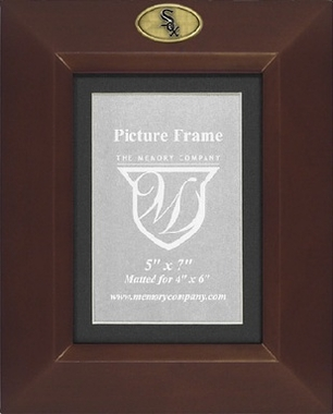 Chicago White Sox BROWN Portrait Picture Frame