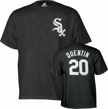 Chicago White Sox Carlos Quentin Name and Number T-Shirt