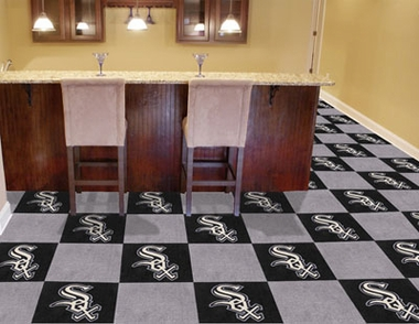 Chicago White Sox Carpet Tiles