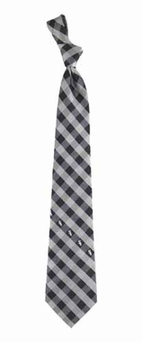 Chicago White Sox Check Poly Necktie