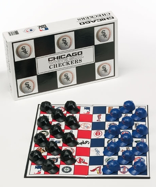 Chicago White Sox Checkers Set
