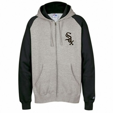 Chicago White Sox Classic Full Zip Hooded Sweatshirt