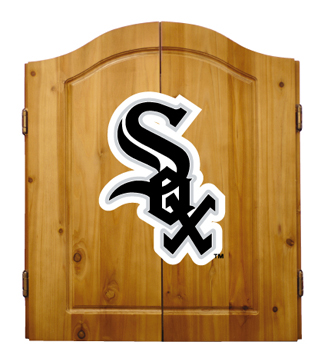 Chicago White Sox Complete Dart Cabinet