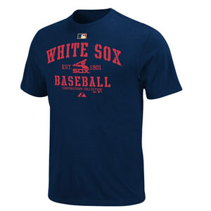 Chicago White Sox Cooperstown AC Classic T-Shirt - X-Large
