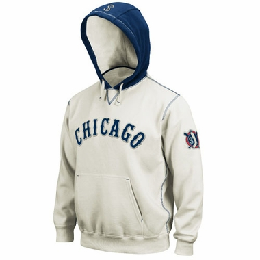 Chicago White Sox Cooperstown Natural Hooded Sweatshirt