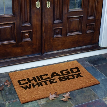 Chicago White Sox Flocked Coir Doormat