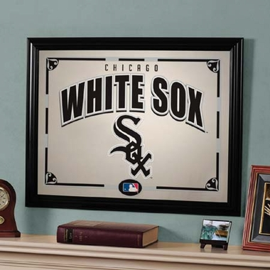 Chicago White Sox Framed Mirror