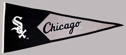 Chicago White Sox Large Wool Pennant