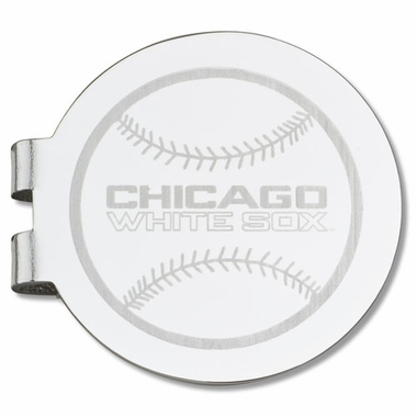 Chicago White Sox Laser Engraved Money Clip