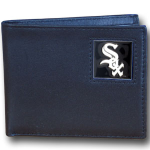 Chicago White Sox Leather Bifold Wallet (F)