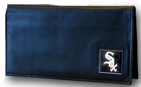 Chicago White Sox Leather Checkbook Cover (F)