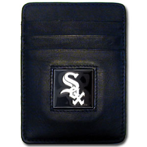 Chicago White Sox Leather Money Clip