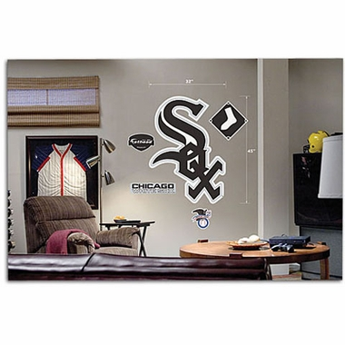 Chicago White Sox Logo Fathead Wall Graphic