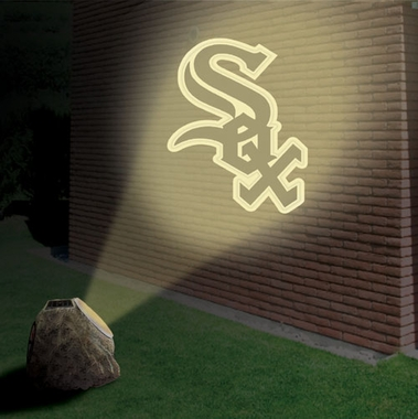 Chicago White Sox Logo Projection Rock