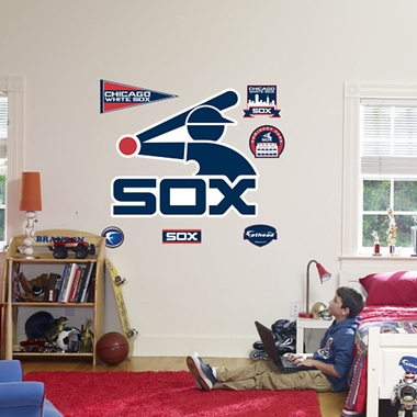 Chicago White Sox Logo (Throwback) Fathead Wall Graphic