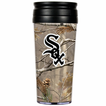 Chicago White Sox Open Field Acrylic Travel Tumbler