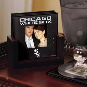 Chicago White Sox Photo Coaster Set
