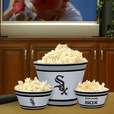 Chicago White Sox Plastic Serving Set