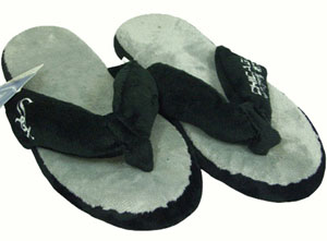 Chicago White Sox Plush Thong Slippers