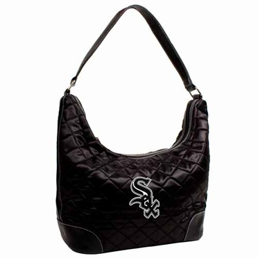 Chicago White Sox Quilted Hobo Purse