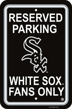 Chicago White Sox Plastic Parking Sign (P)