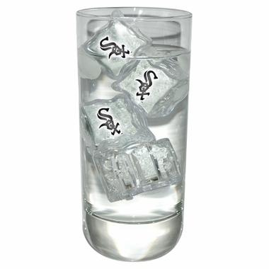 Chicago White Sox Set of 4 Light Up Ice Cubes