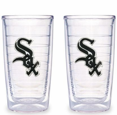 Chicago White Sox Set of TWO 16 oz. Tervis Tumblers