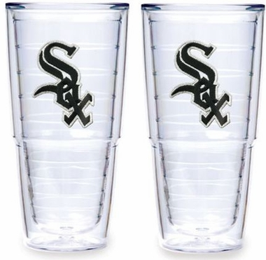 "Chicago White Sox Set of TWO 24 oz. ""Big T"" Tervis Tumblers"