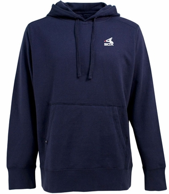 Chicago White Sox Mens Signature Hooded Sweatshirt (Cooperstown) (Team Color: Navy)