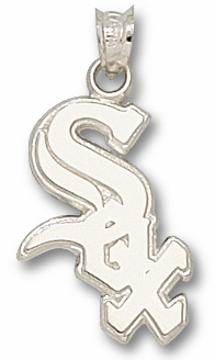 Chicago White Sox Sterling Silver Pendant