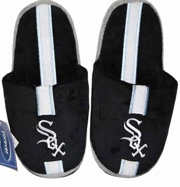 Chicago White Sox Team Stripe Slide Slippers