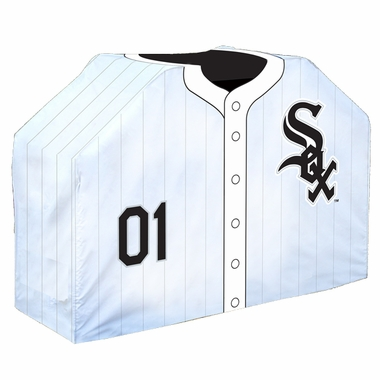 Chicago White Sox Uniform Grill Cover