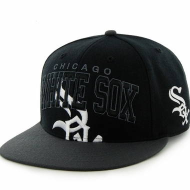 Chicago White Sox Vintage Blockhouse Snap Back Hat