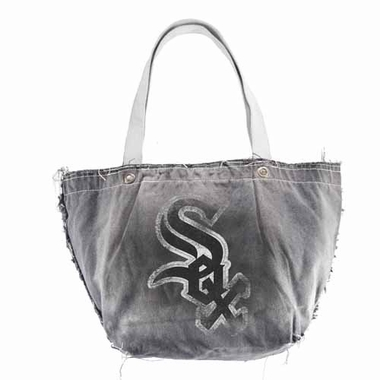 Chicago White Sox Vintage Tote (Black)