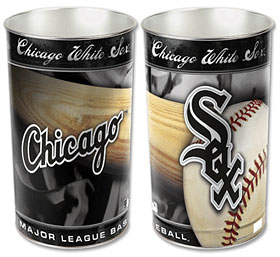 "Chicago White Sox 15"" Waste Basket"