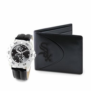 Chicago White Sox Watch and Wallet Gift Set
