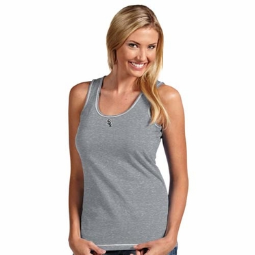 Chicago White Sox Womens Sport Tank Top (Color: Gray)