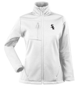 Chicago White Sox Womens Traverse Jacket (Color: White) - Medium