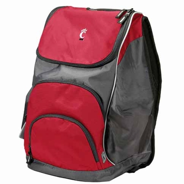 Cincinnati Action Backpack (Color: Red)