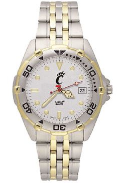 Cincinnati All Star Mens (Steel Band) Watch