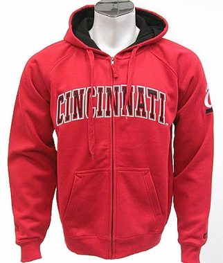Cincinnati Automatic Full Zip Hooded Sweatshirt (Team Color)