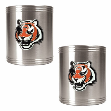 Cincinnati Bengals 2 Can Holder Set