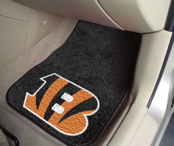 Cincinnati Bengals 2 Piece Car Mats