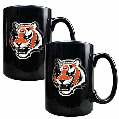 Cincinnati Bengals 2 Piece Coffee Mug Set