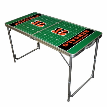 Cincinnati Bengals 2 x 4 Foot Tailgate Table