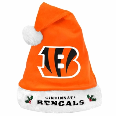 Cincinnati Bengals 2012 Team Logo Plush Santa Hat