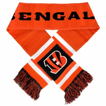 Cincinnati Bengals 2012 Team Stripe Knit Scarf