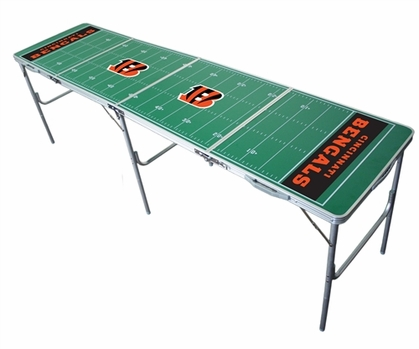 Cincinnati Bengals 2x8 Tailgate Table