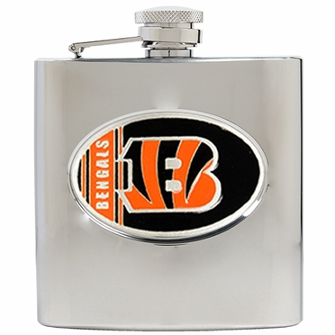Cincinnati Bengals 6 oz. Hip Flask
