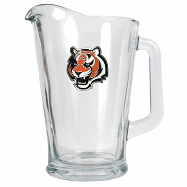 Cincinnati Bengals 60 oz Glass Pitcher
